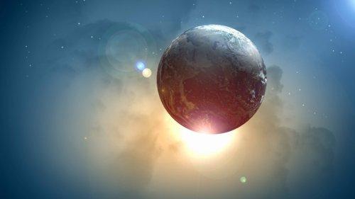 Über ein Universum mit umgedrehtem Zeitpfeil