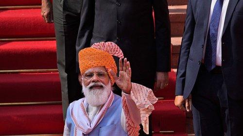 Dicke Geburtstagssause für Premier Modi