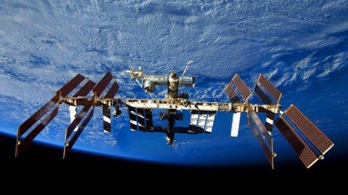 Filmdreh auf ISS