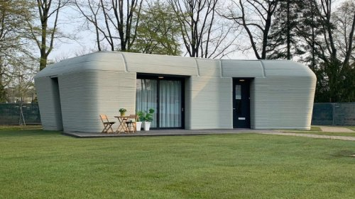 Aus dem 3D-Drucker: Dein Wohnhaus ist fertig