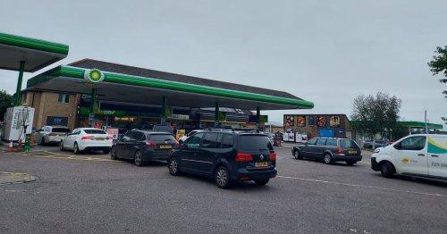 Panic buying at Devon's petrol stations