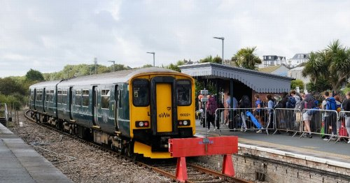 Trains cancelled for rest of the day due to broken down train