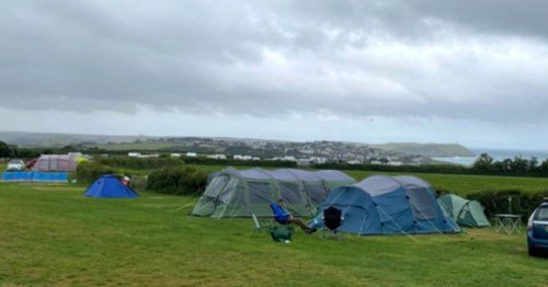 Family who camped during 70mph winds blame lack of warning