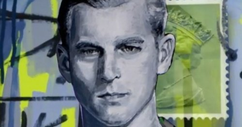 Young Prince Phillip 'brought to life' in mind-blowing Exeter art tribute