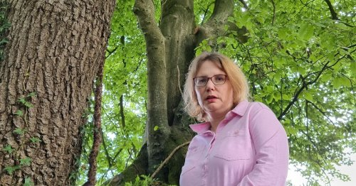 Woman ordered to apologise for saving trees