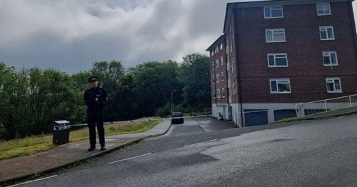 Southway flats and park sealed off in ongoing incident