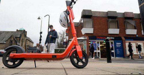 Police appeal for woman hit by suspected shoplifter on E-scooter