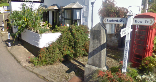 Complete A- Z of weirdest place names in Devon
