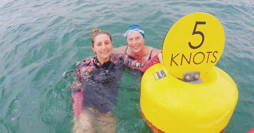 Becky to swim Torbay to celebrate mum's cancer all clear