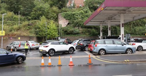Drivers furious as Brexit blamed for fuel crisis