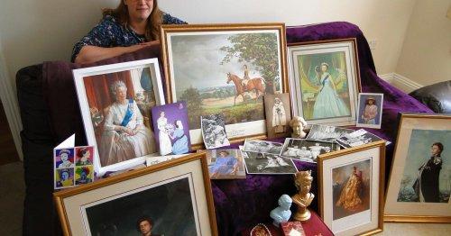 Woman shares Queen Elizabeth eBay memorabilia treasure trove