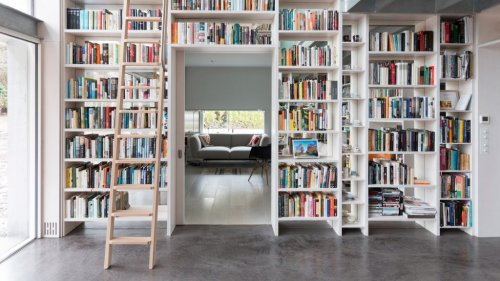 Ten practical home libraries that showcase their owners' book collections