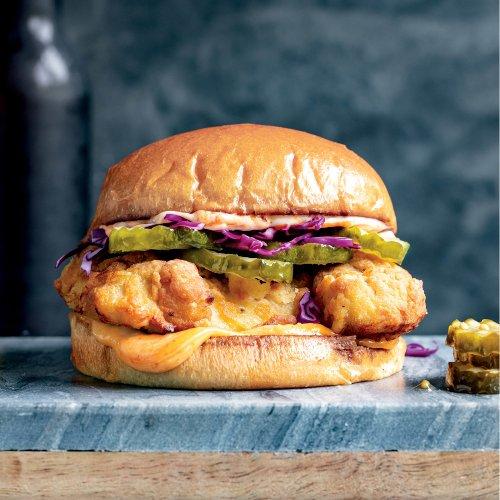 Duo Crisp + Air Fryer - Crispy Fried Chicken Sandwiches - Instant Pot Recipes