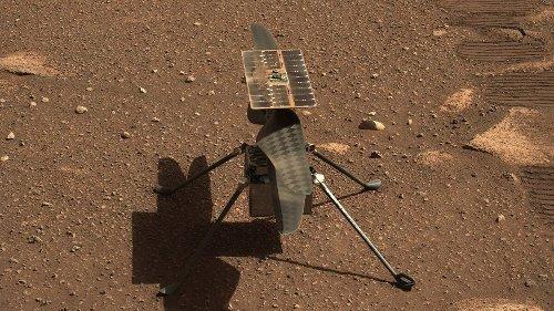 El helicóptero Ingenuity de la NASA, listo para hacer historia en Marte