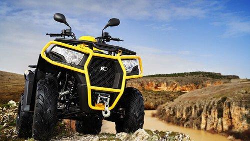 Kymco vuelve al mercado de los quad con el nuevo MXU 300