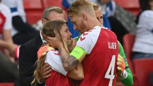 El Sevilla se une al apoyo mundial de Eriksen, ya estabilizado