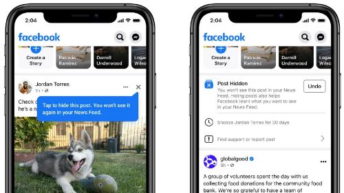 Facebook promete adaptar el canal de noticias a lo que pida cada usuario