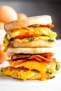 Freezer Egg Breakfast Sandwiches