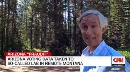 CNN Tracks Down Mysterious 'Lab' In Montana Where 'Voting System Data' From 2020 Election 'Audit' In Arizona Is Being Analyzed - Digg