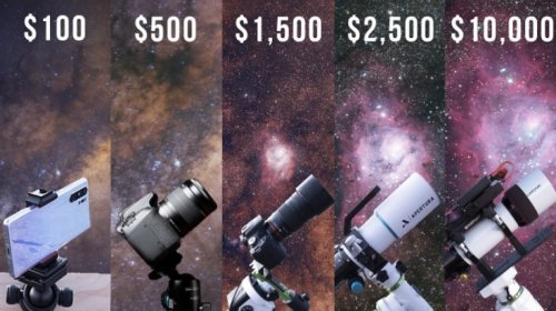 Here's The Difference Between An Astrophotography Camera That Costs $100 And One That Costs $10,000 - Digg