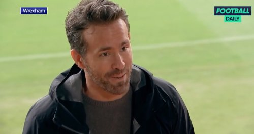 Ryan Reynolds Loved Getting Heckled At His First Home Game As A Newly Minted Soccer Club Owner