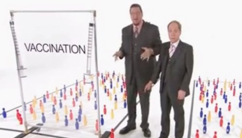 This Old Penn And Teller Clip Illustrating How Effective Vaccines Are Hits Differently In 2021 - Digg