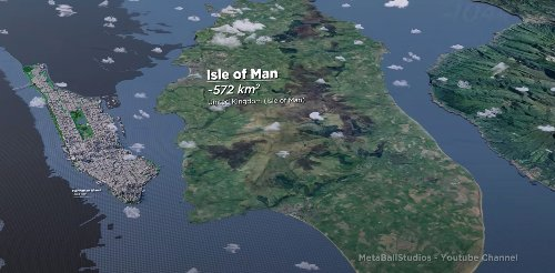 Stunning Visualization Puts Global Island Sizes Into Perspective With A 3D Comparison - Digg