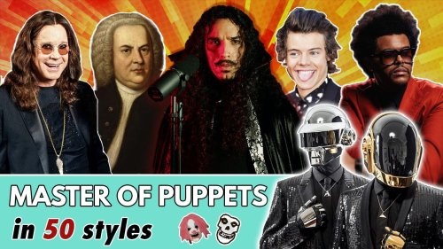 Musician Performs Metallica's 'Master Of Puppets' In The Style Of 50 Different Artists, And It's One Hell Of A Ride