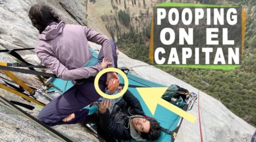 Here's How Not To Poop When Climbing El Capitan In Yosemite National Park - Digg