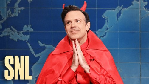 Ted Lasso Shows Up As The Devil On Weekend Update To Take Credit For Tom Brady's Success And Trump's Social Media