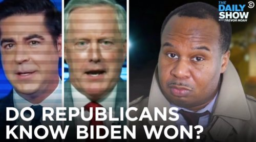 'The Daily Show' Airs Brutal Supercut Of Republicans Hedging When Asked If Joe Biden Won The 2020 Election - Digg