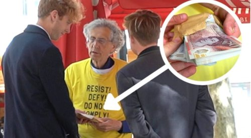 These Pranksters Trick Anti-Vaxxer Piers Corbyn Into Accepting £10,000 If He Stopped Criticizing AstraZeneca - Digg