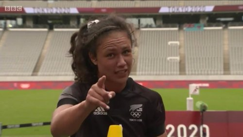 Watch New Zealand Rugby Player Ruby Tui Give The 'Best Interview Ever' After Defeating Russia At The Tokyo Olympics - Digg