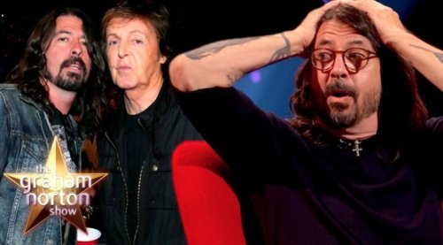 Dave Grohl Will Never Forget What His Daughter Did After Paul McCartney Started Playing Music On The Piano In Their House