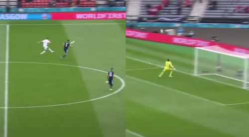 Player Catches The Goalkeeper Off His Line, Rockets In A Goal From 50-Yards Out - Digg