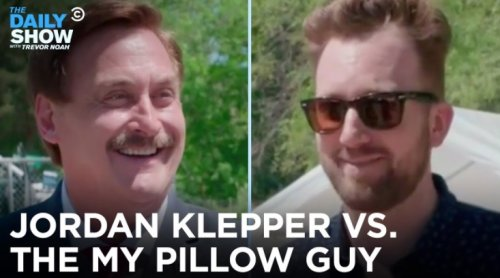 Jordan Klepper Confronts MyPillow's Mike Lindell Over His Claims That Trump Will Be Reinstated As President, And Things Get Uncomfortable - Digg
