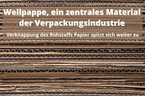 Knapper Rohstoff Papier: Der Papierpreis steigt, der Kartonpreis klettert vielfach mit