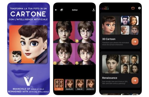 Voilà, il segreto del successo dell'app che trasforma i selfie in cartoni animati