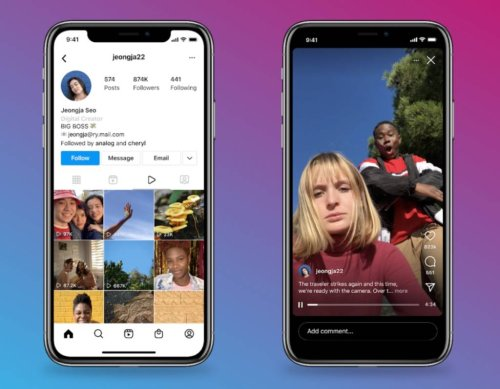 Creare video su Instagram diventa sempre più facile