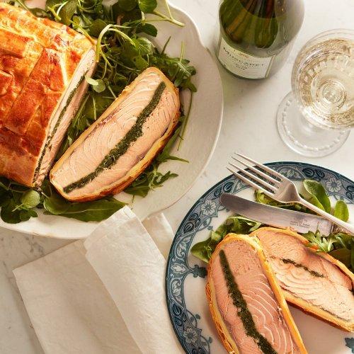 Classic Salmon en Croute Recipe