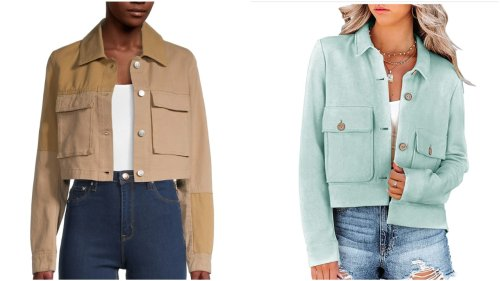 6 cropped lightweight jackets for cool summer evenings