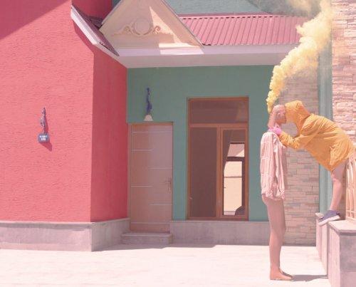 Exploring the Pastel Surrealism of Karen Khachaturov's Conceptual Photography