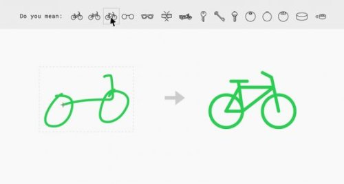 Google AutoDraw Turns Your Rough Scribbles Into Beautiful Icons For Free