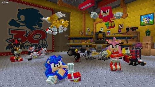 Minecraft celebrates Sonic's 30th anniversary with new DLC