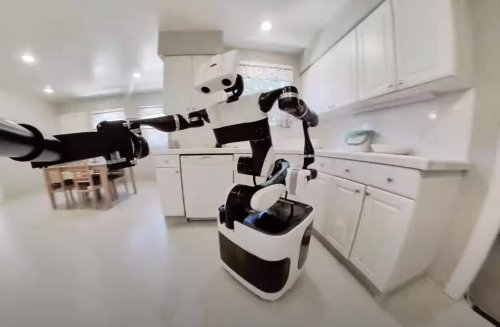 Watch Toyota's latest robot ace challenging house chores