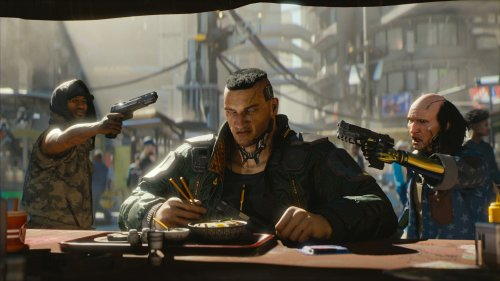Cyberpunk 2077 appears to be returning to the PlayStation Store
