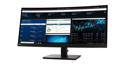 Lenovo's new ThinkVision 34-inch Ultrawide monitor packs lavish connectivity
