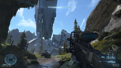 Halo Infinite's technical preview dipped to 540p on Xbox One S, Series S