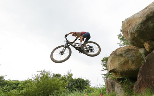 How a super-heated tent helped this mountain biker to Olympic gold