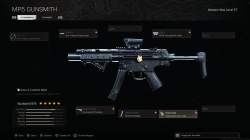 The best MP5 (MW) loadouts in Call of Duty: Warzone